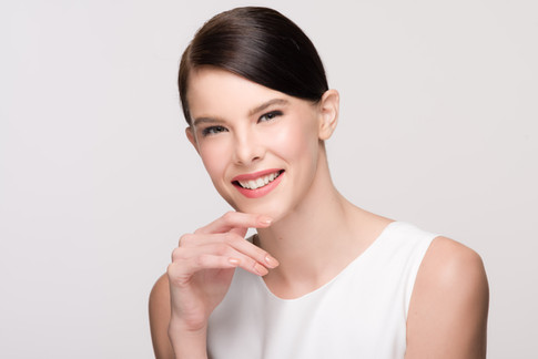 Photographer: Antonio del Rosario Stylist: Martina Bautista Hairstylist: Carlo Umipig Model: Anastasia Frolova For SM Department Store - Beauty