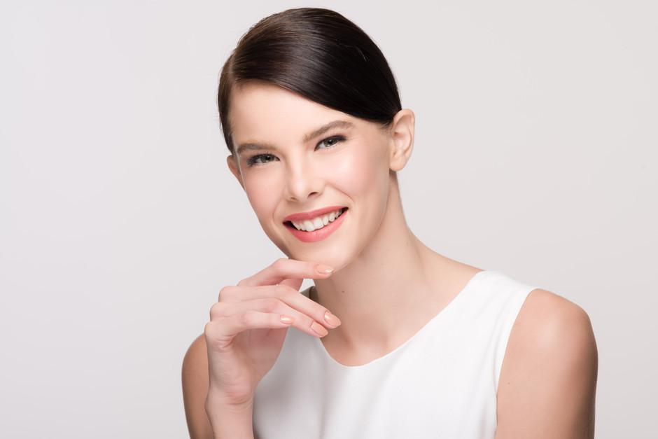 Photographer: Antonio del Rosario Stylist: Martina Bautista Hairstylist: Carlo Umipig Model: Anastasia Frolova For SM Department Stores - Beauty