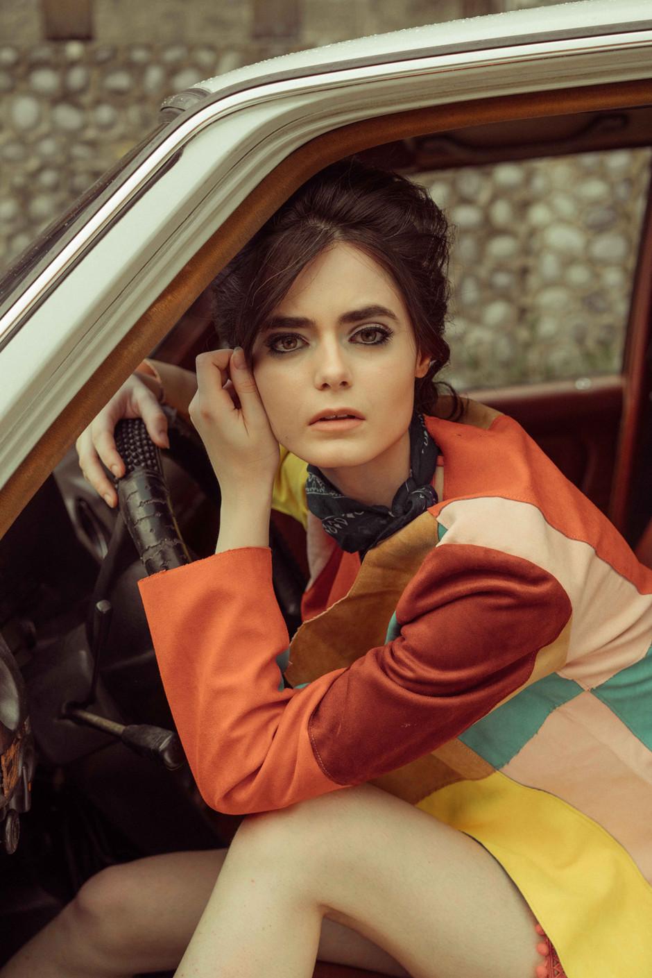 Photographer: Artu Nepomuceno Stylist: Meg Manzano Hairstylist: Carlo Umipig Model: Bronija Ales