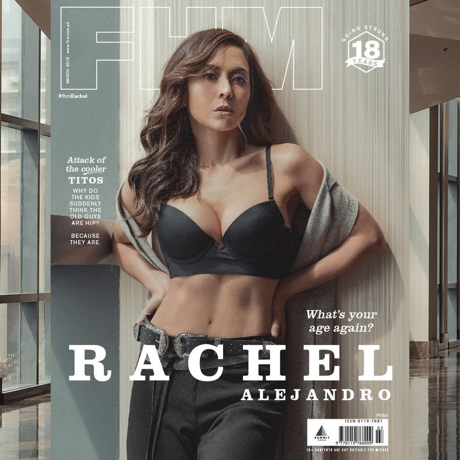 Photographer: Artu Nepomuceno Stylist: Meg Manzano Hairstylist: Raven Dizon Model: Rachel Alejandro For FHM Philippines