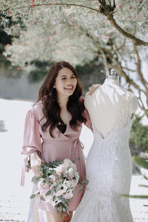 Bride: Elspeth Galapon - Ferrer Photo: Alecks Mutuc Hair: Carlo Umipig