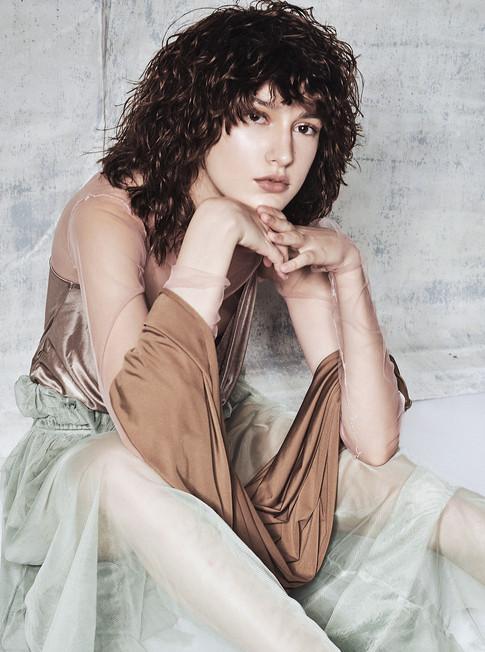 Photographer: Gee Plamenco Jr. Stylist: Meg Manzano Hairstylist: Ethan David Model: Julia Shiv of IM Agency
