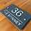 Thumbnail: Large Modern stand-off house sign 290mmx210mm