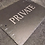 Thumbnail: Large Slate Private Plaque Sign 29cmx21.5cm