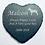 Thumbnail: Slate Heart Memorial Sign 11cmx11cm