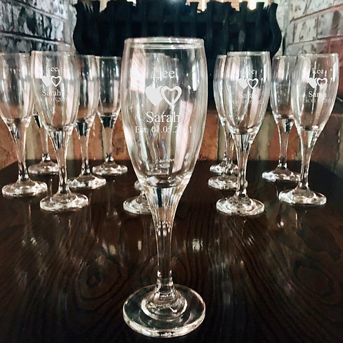 Bulk Wedding Champagne Flutes