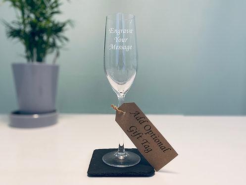 Elegant Stemmed Champagne Flute