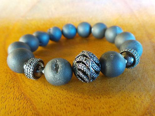B008 Gray Bracelet