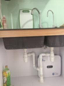under-sink water filration sytem