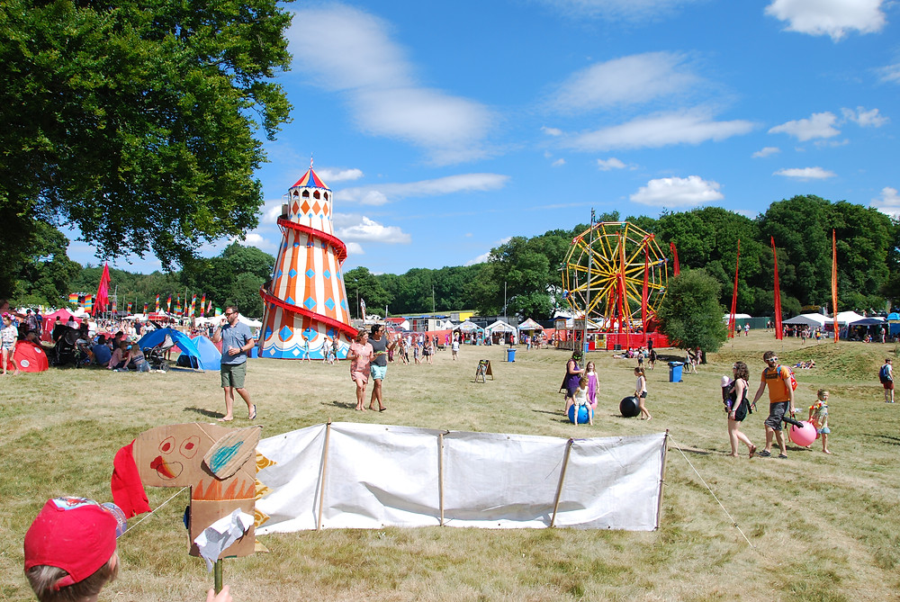 Main arena at Blissfields 2017