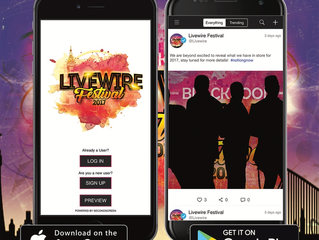 Heading to Livewire Festival? Don't forget to download your festival app!