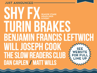 Victorious Festival Adds Shy FX + Stamina MC, Turin Brakes, Benjamin Francis Leftwich and more.
