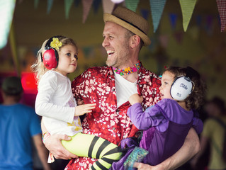 Shindig Festival - a great way to introduce your family to the festival scene!