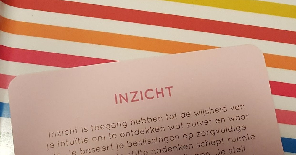 Deugdenkaart: Inzicht, Uitgeverij Act on Virtues