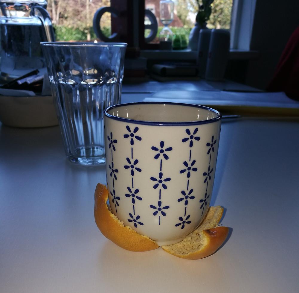 """""""Hoe een kop koffie en een mandarijnenschil kan leiden tot een openbaring."""""""