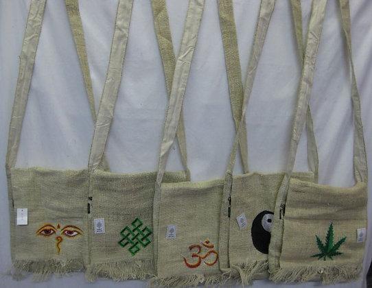Hemp bags with Symbols