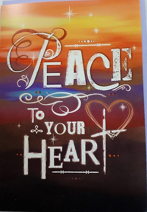 Peace to your Heart