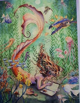 Mermaid Under Water