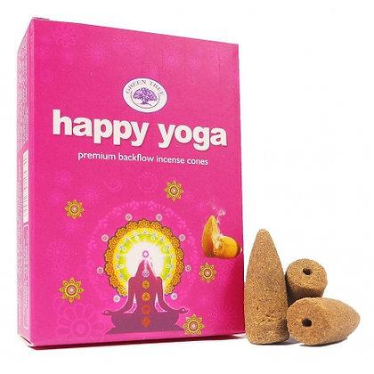 Happy Yoga Back Flow Cones