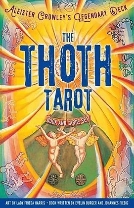 Thoth Tarot Book and Card Set