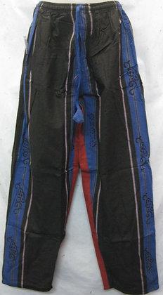 Cotton Pants Blue-Black kc951