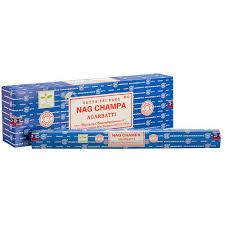 Satya Nag Champa Outside Incense
