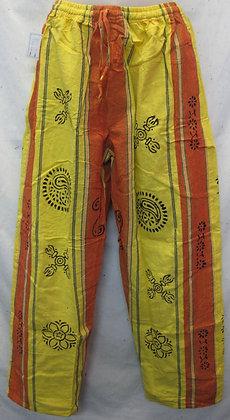 Cotton Pants Yellow-Orange kc951