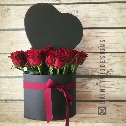 Luxury Rose Heart Box