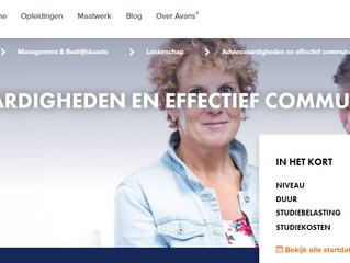 Adviesvaardigheden en Effectieve communicatie bij Avans +