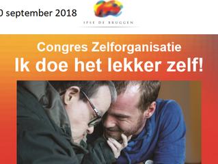 Drie maal acte de presence op Congres Zelforganisatie op 20 september 2018.