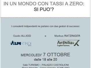"""""""Rendimenti apprezzabili in un mondo con tassi a zero: si può?"""""""