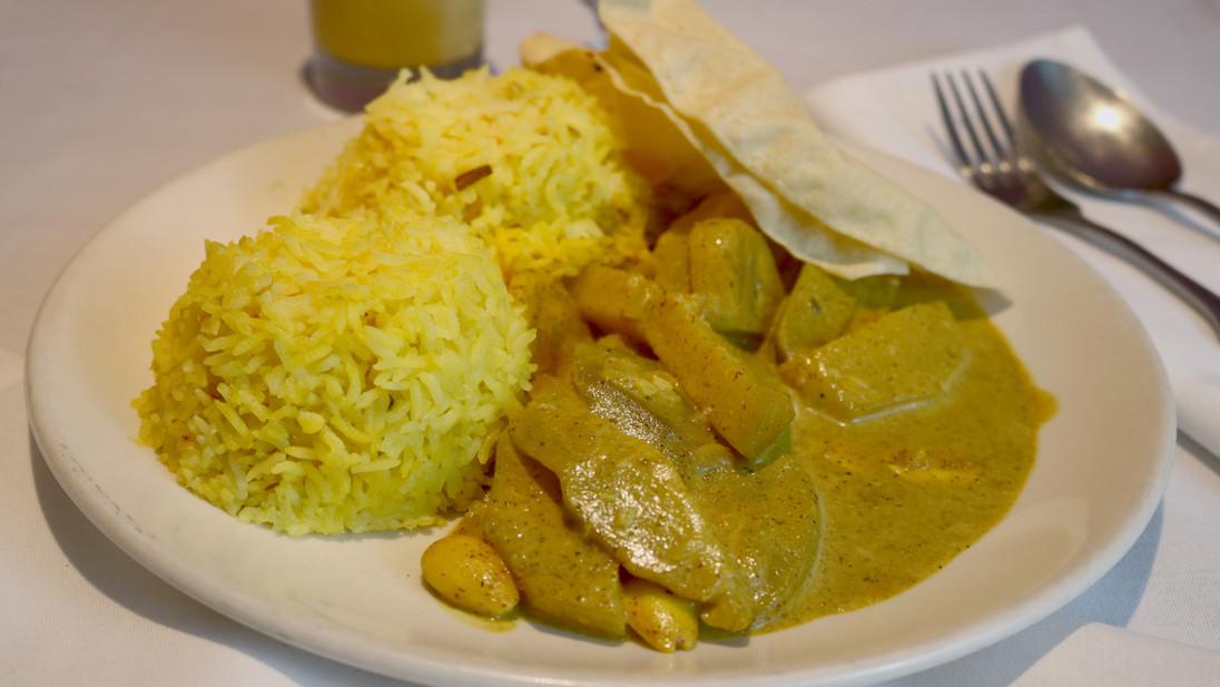 Mango Almond Curry