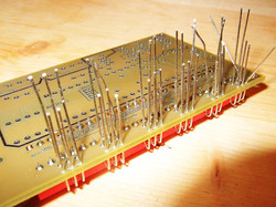 Circuit Board Through Hole Assembly