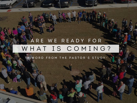 Are We Ready For What's Coming?