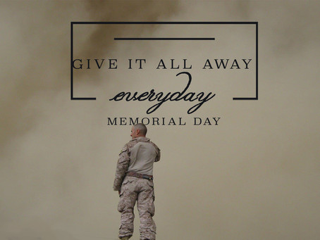 Give It All Away…Everyday