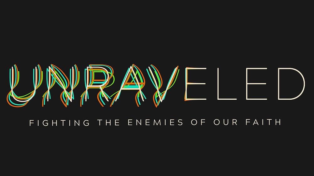 Unraveled Sermon Logo