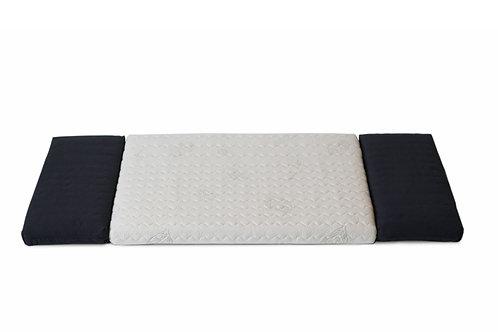 Matratze Kokos/Naturlatex für Minimalmaxi mitwachsend bis 70 x 140 / 0 - 7 Jahre