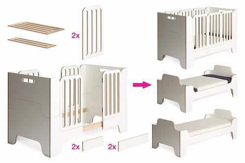 Erweiterungsset für Minimalmaxi Babybett