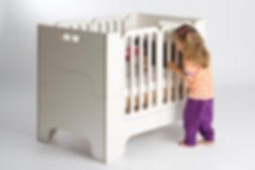 Wilja Kinderbett minimalmaxi als Babybett