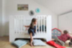 Minimalmaxi - mitwachsendes Kinderbett von WILJA