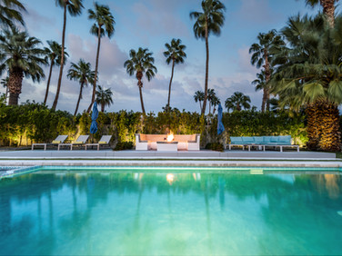 Chic, Central Palm Springs Luxury Resort