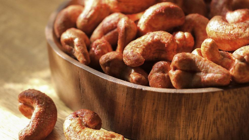 Roasted Jumbo Cashews (BBQ)