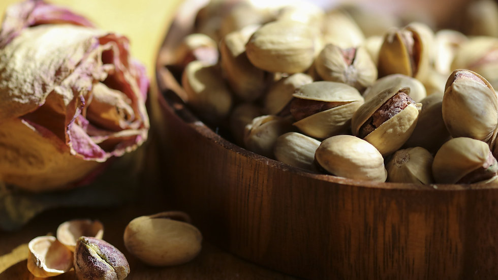 Roasted Pistachios (Half-Salted)