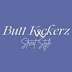 Blue Whitetxt Butt Kickerz SS Logo.png