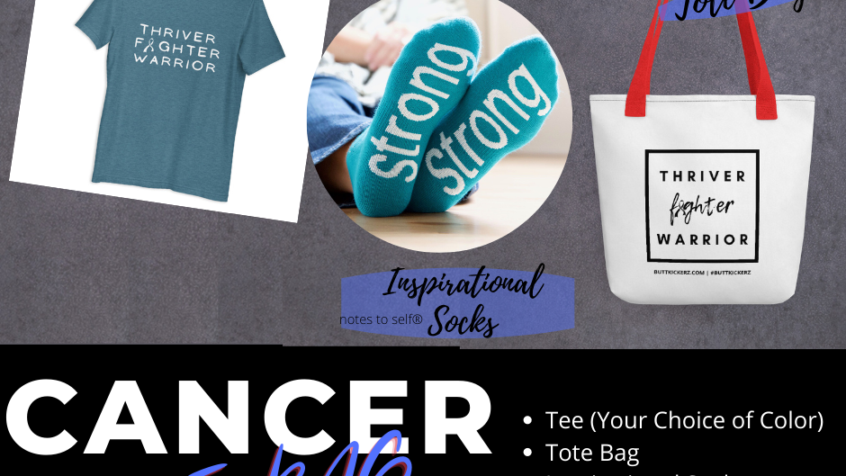 Value Cancer Care Package Shirt, Tote, Power Sox