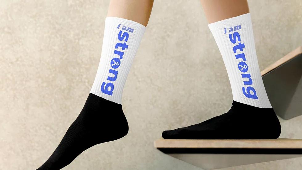 I Am Strong Unisex Power Socks