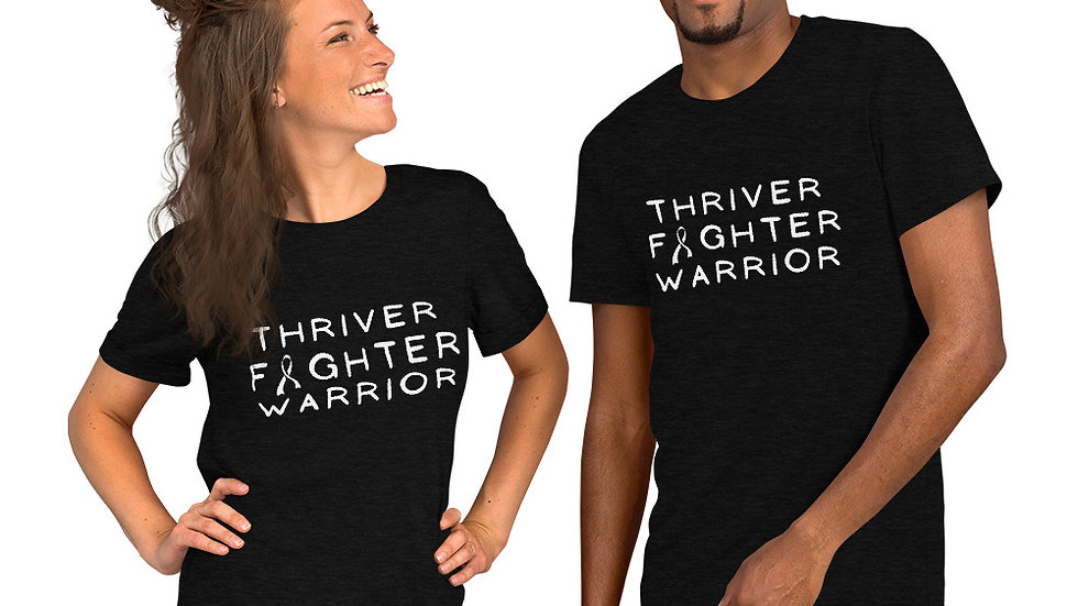Unisex Thriver Fighter Warrior in Every Color Short-Sleeve Tee