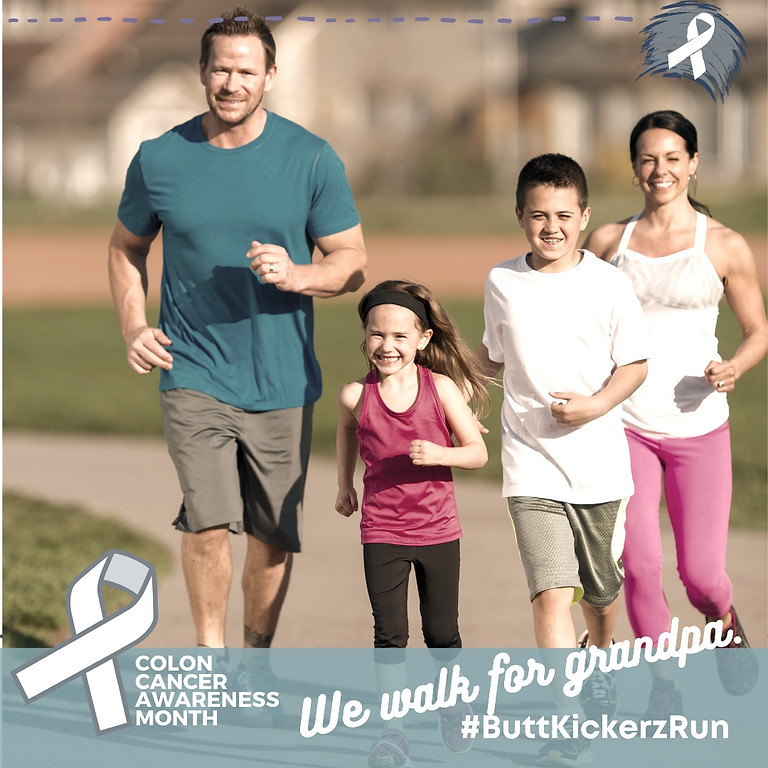 Butt Kickerz Virtual Run 1 Mile, 5K, 13.1 Half  26.2 Full