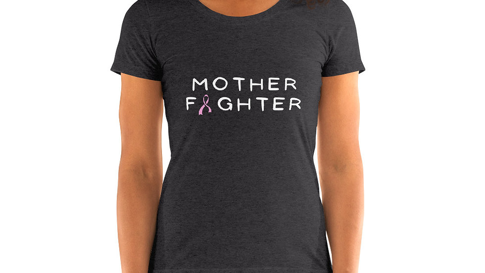 Pink Ribbon Mother Fighter Tee