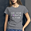 Thumbnail: Women's short sleeve t-shirt No One Fights Alone Breast